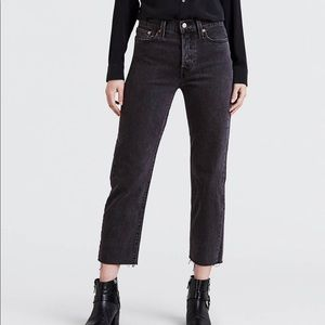 Levi's   Wedgie Straight Fit Cropped Denim   25